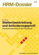 Cover-Bild zu Stellenbeschreibung und Anforderungsprofil von Studer, Jürg