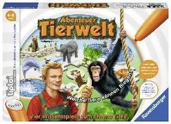 Cover-Bild zu tiptoi® Abenteuer Tierwelt von Wolfgang Kramer (Urheb.)