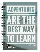 Cover-Bild zu Biella Schüleragenda mydiary 21/22, Wire-O, Adventure