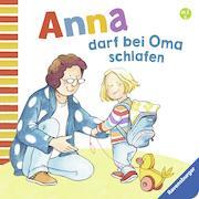Cover-Bild zu Anna darf bei Oma schlafen von Schwarz, Regina