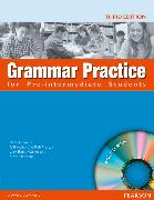 Cover-Bild zu Grammar Practice Pre-intermediate Book and CD-ROM (no Key) von Elsworth, Steve