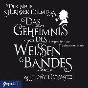 Cover-Bild zu Horowitz, Anthony: Das Geheimnis des weißen Bandes (Audio Download)