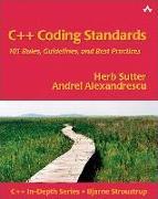 Cover-Bild zu C++ Coding Standards von Sutter, Herb