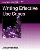 Cover-Bild zu Writing Effective Use Cases von Cockburn, Alistair