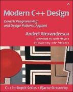 Cover-Bild zu Modern C++ Design von Alexandrescu, Andrei