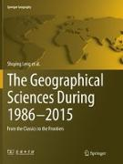 Cover-Bild zu Leng, Shuying: The Geographical Sciences During 1986-2015