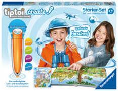 Cover-Bild zu Ravensburger tiptoi CREATE Starter-Set 00805: Stift und Weltreise-Buch - Kreativ-Buch für Kinder ab 6 Jahren, mit Aufnahmefunktion