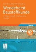 Cover-Bild zu Wendehorst Baustoffkunde (eBook) von Gerhardt, Ulrich (Überarb.)