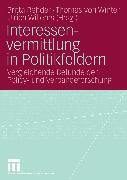 Cover-Bild zu Interessenvermittlung in Politikfeldern (eBook) von Rehder, Britta