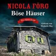 Cover-Bild zu Böse Häuser von Förg, Nicola