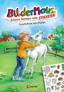 Cover-Bild zu Grimm, Sandra: Bildermaus - Lesen lernen mit Stickern - Geschichten vom Fohlen