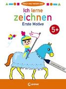 Cover-Bild zu Loewe Malbücher (Hrsg.): Wisch und wieder weg - Ich lerne zeichnen 5+
