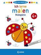 Cover-Bild zu Loewe Malbücher (Hrsg.): Wisch und wieder weg - Ich lerne malen 4+