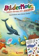 Cover-Bild zu Richard, Udo: Bildermaus - Lesen lernen mit Stickern - Geschichten vom kleinen Delfin