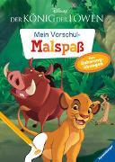 Cover-Bild zu Disney Der König der Löwen: Mein Vorschulmalspaß. Tolle Schwungübungen von The Walt Disney Company (Illustr.)