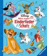 Cover-Bild zu Disney Mein erster Kinderliederschatz - Mit Notensatz von The Walt Disney Company (Illustr.)