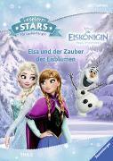 Cover-Bild zu Leselernstars Disney Die Eiskönigin: Elsa und der Zauber der Eisblumen von THiLO