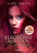 Cover-Bild zu Blackcoat Rebellion - Das Los der Drei von Carter, Aimée