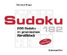 Cover-Bild zu Krüger, Eberhard: Sudoku Block 182 (5 Exemplare à 2,99 ?)