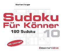 Cover-Bild zu Krüger, Eberhard: Sudoku für Könner 10 (5 Exemplare à 2,99 ?)