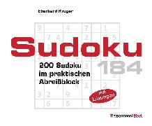 Cover-Bild zu Krüger, Eberhard: Sudoku Block 184 (5 Exemplare à 2,99 ?)