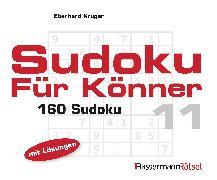 Cover-Bild zu Krüger, Eberhard: Sudoku für Könner 11 (5 Exemplare à 2,99 ?)