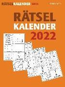 Cover-Bild zu Krüger, Eberhard: Rätselkalender 2022. Der beliebte Abreißkalender für alle Rätselfreunde