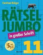 Cover-Bild zu Krüger, Eberhard: Rätseljumbo in großer Schrift 11