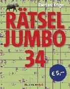 Cover-Bild zu Krüger, Eberhard: Rätseljumbo 34