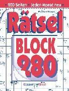 Cover-Bild zu Krüger, Eberhard: Rätselblock 280 (5 Exemplare à 2,99 ?)