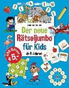 Cover-Bild zu Krüger, Eberhard: Der neue Rätseljumbo für Kids