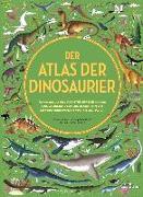 Cover-Bild zu Der Atlas der Dinosaurier von Letherland, Lucy