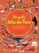 Cover-Bild zu Der grosse Atlas der Tiere von Letherland, Lucy