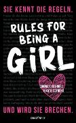Cover-Bild zu Rules For Being A Girl von Bushnell, Candace
