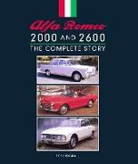 Cover-Bild zu Alfa Romeo 2000 and 2600 (eBook) von Bagnall, Tony