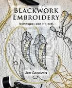 Cover-Bild zu Blackwork Embroidery (eBook) von Goodwin, Jen