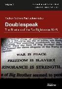 Cover-Bild zu Doublespeak: The Rhetoric of the Far Right since 1945 (eBook) von Feldman, Matthew (Hrsg.)