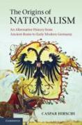 Cover-Bild zu Origins of Nationalism (eBook) von Hirschi, Caspar