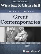 Cover-Bild zu Great Contemporaries, 1937 (eBook) von Churchill, Winston S.