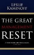 Cover-Bild zu The Great Management Reset: 27 Ways to Be a Better Manager (of Anything) von Kaminoff, Leslie