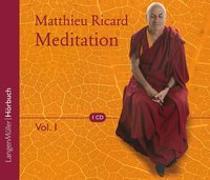 Cover-Bild zu Meditation, Vol. 1 von Ricard, Matthieu