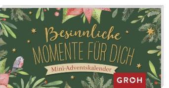 Cover-Bild zu Groh Redaktionsteam (Hrsg.): Besinnliche Momente für dich