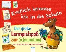 Cover-Bild zu Endlich komme ich in die Schule. Der große Lernspielspaß zum Schulanfang von Barnhusen, Friederike