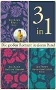 Cover-Bild zu Die großen Romane Emma - Stolz und Vorurteil - Verstand und Gefühl (eBook) von Austen, Jane