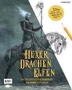 Cover-Bild zu Hexer, Drachen, Elfen - die beliebtesten Fantasy-Figuren zeichnen von Kock, Hauke
