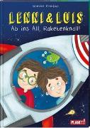 Cover-Bild zu Lenni und Luis 3: Ab ins All, Raketenknall! von Rhodius, Wiebke