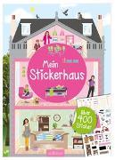 Cover-Bild zu Mein Stickerhaus von Bräuer, Ingrid (Illustr.)