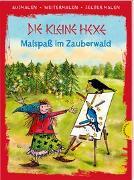 Cover-Bild zu Die kleine Hexe. Malspaß im Zauberwald (Ausmalen, weitermalen, selber malen) von Preussler, Otfried