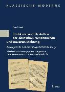Cover-Bild zu Probleme und Gestalten der deutschen romantischen und neueren Dichtung (eBook) von Zech, Paul