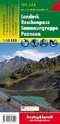 Cover-Bild zu WK 254 Landeck - Reschenpass - Samnaungruppe - Paznaun, Wanderkarte 1:50.000. 1:50'000 von Freytag-Berndt und Artaria KG (Hrsg.)
